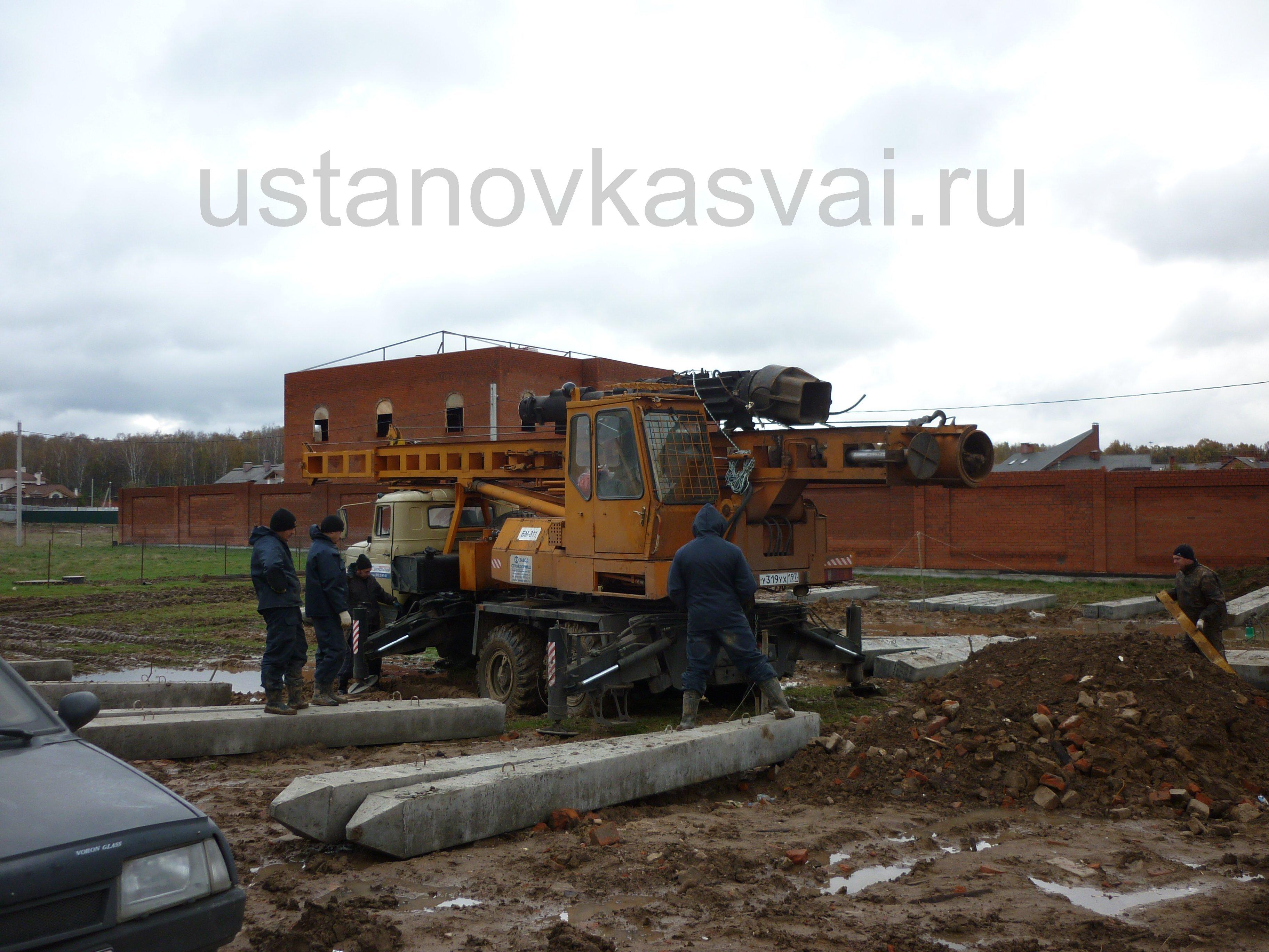 Столбчатый фундамент купить в Подольске