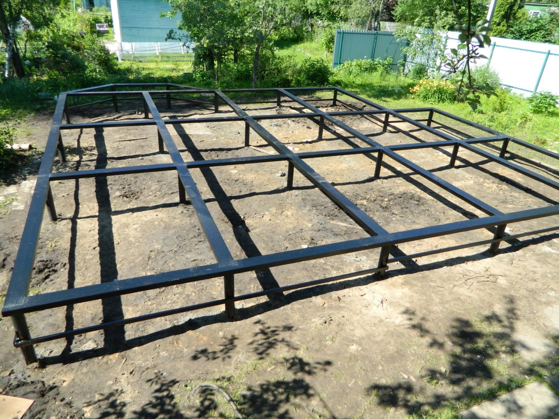 Столбчатый фундамент проект в Королёве